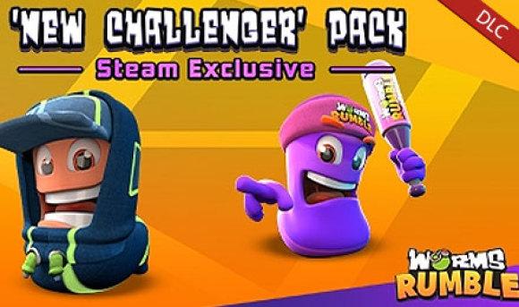 百战天虫:大混战 - 新挑战者皮肤包 Worms Rumble - New Challenger Pack 杉果游戏 sonkwo